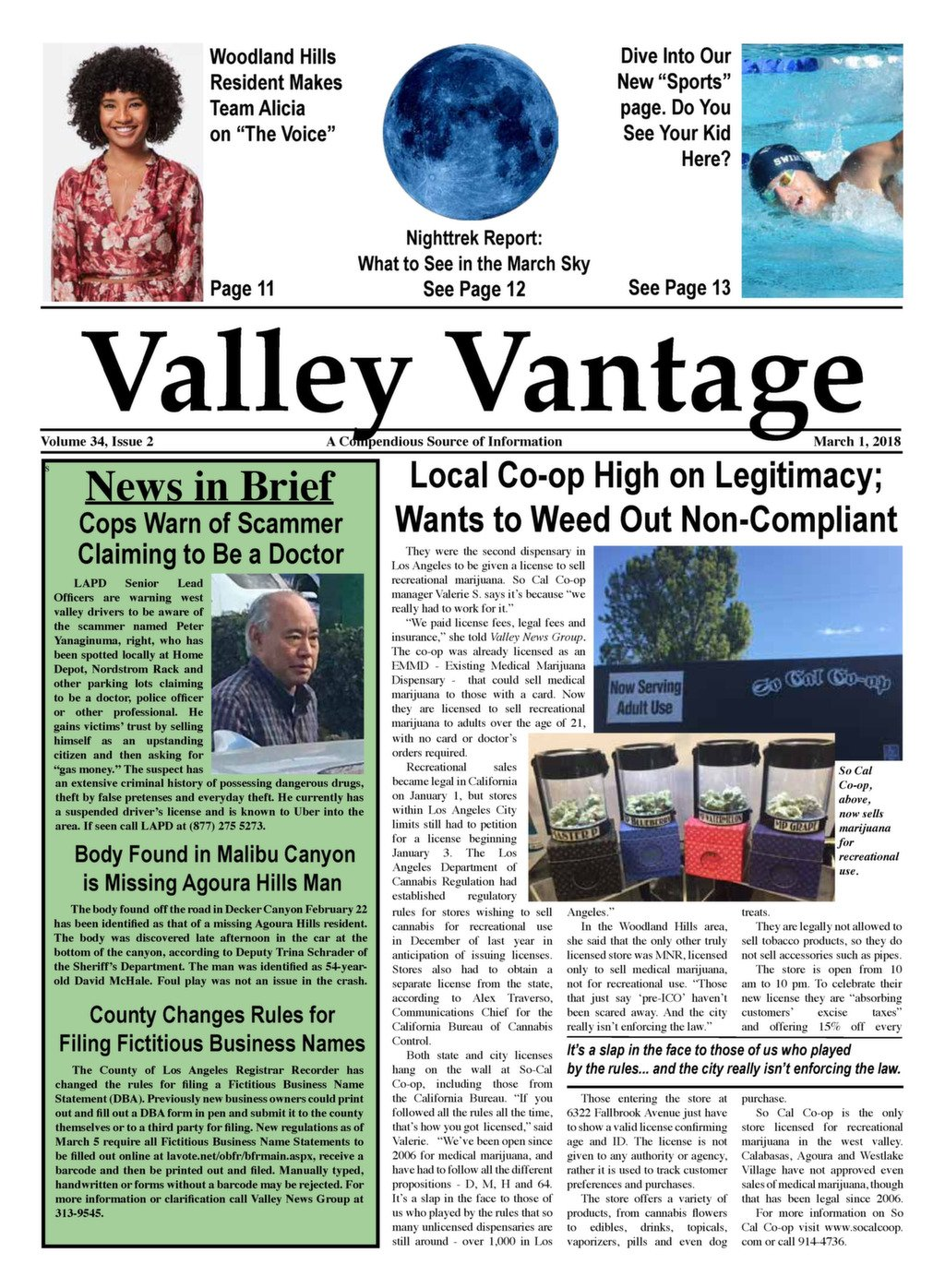 3-1-18 | Valley News Group