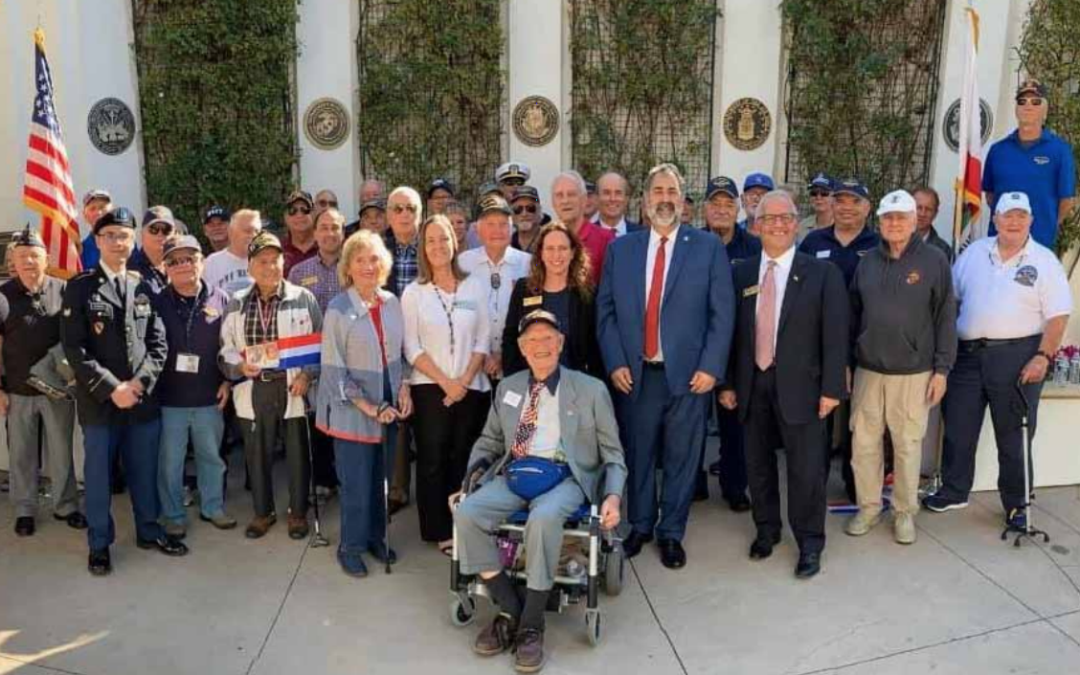 Honoring Those Who Served: New Veterans Garden Dedicated