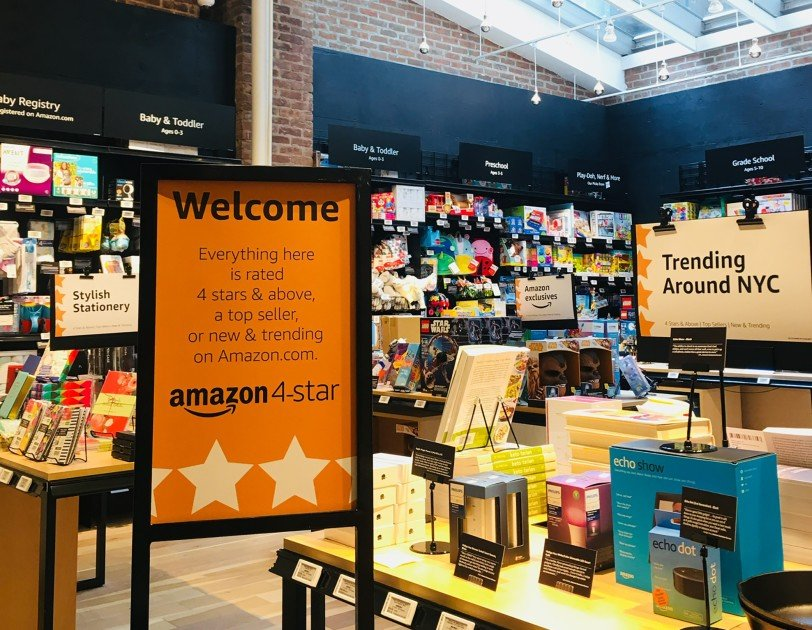 Amazon 4-Star Store Opening  at Westfield Topanga