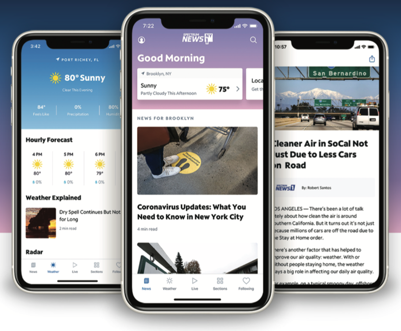 Valley News Group Partners With  Spectrum For Local-Based News App