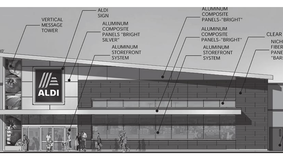 Discount Grocer Aldi to Open at Old OSH Hardware